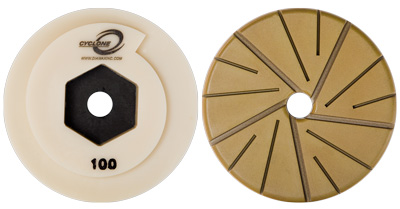 Cyclone Hybrid Straight & Profile Edge Wheel