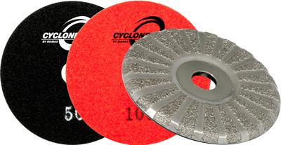 Cyclone V2 Velcro Grinder