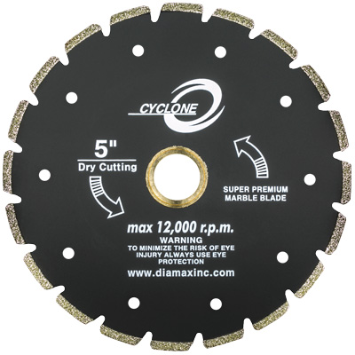 Cyclone Electroplated Blade