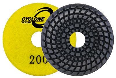 Cyclone Convex Polishing Disk