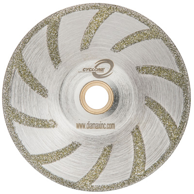 Cyclone Electroplated Contour Blade