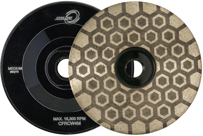 Cyclone Hex Flat Resin Cup Wheel