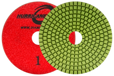 Hurricane 3 Step Wet Polishing System