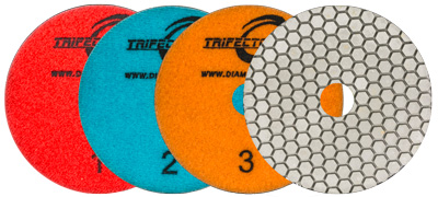 Trifecto Dry-Wet 3 step Polishing System